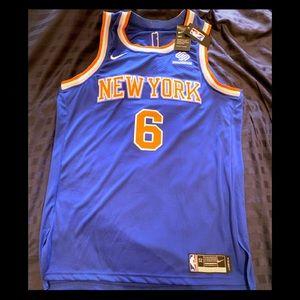 Nike Authentic Knicks Porzingis Jersey